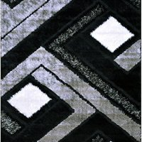 Orian Rugs Geometric Divulge Multi Blue Area Rug 5 3 X 7