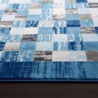 2400 Blue 5'2x7'2 Area Rug Modern Carpet Large New