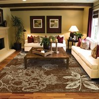 New Large 8x11 Rugs For Living Room Brown Tree Leaf 8x11 Art 8x10 Modern Rugs Contemporary Rugs Dining Room