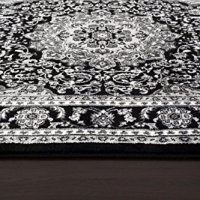 1000 Gray Black White 7'10x10'2 Area Rug Modern Carpet Large New