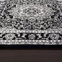 1000 Gray Black White 5'2x7'2 Area Rug Modern Carpet Large New
