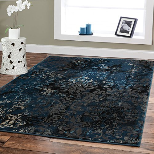 Large Premium Soft Luxury Rugs For Living Rooms 8 11 Navy Blue Rug Beige Brown Black 8 10 Area Rugs Bedroom Office Contemporary Rugs Blue Area Rugs Shop