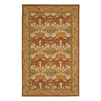 "Nourison India House (IH86) Beige Rectangle Area Rug, 8-Feet by 10-Feet 6-Inches (8' x 10'6"")"
