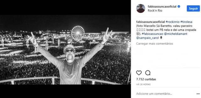 Post - Fabio Assunção/Instagram