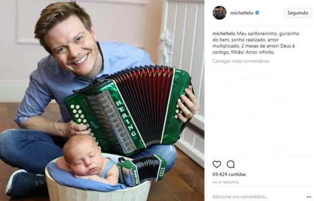Post - Michel Teló/Instagram