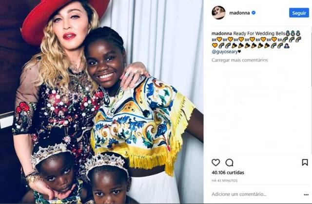 Post - Madonna/Instagram