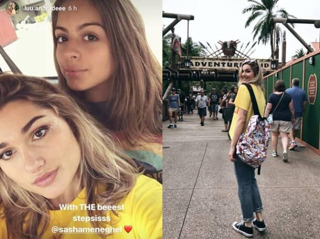 Lu e Sasha/Instagram