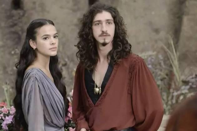 Deus Salve o Rei -Rodolfo vai dar um jeito de se unir a Catarina (Reprodução/TV Globo)