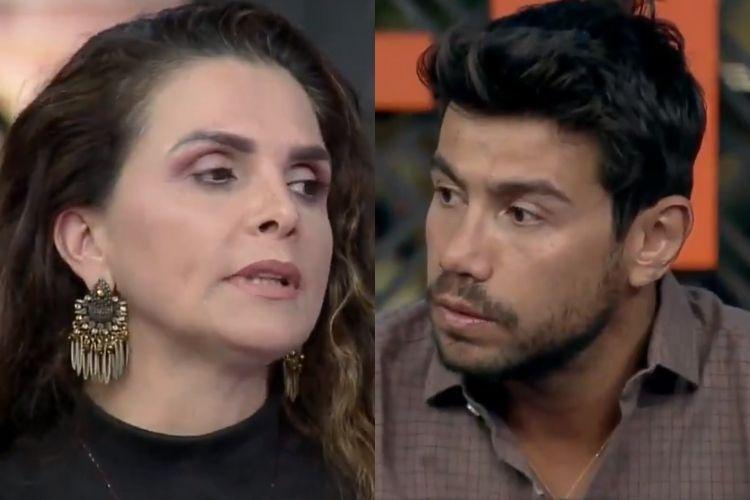 A Fazenda 12: Luiza Ambiel se revolta após ouvir verdades de Mariano e  detona o sertanejo - Área VIP