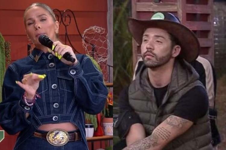 """A Fazenda 13: Rico bate boca com Adriane Galisteu: """"Subiu a cabeça"""""""