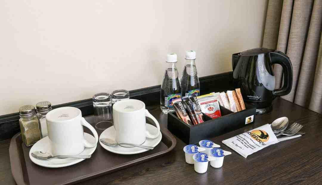 Luxury Room | Coffee & Tea Station | Bed & Breakfast Accommodation In Windhoek | Arebbusch Travel Lodge