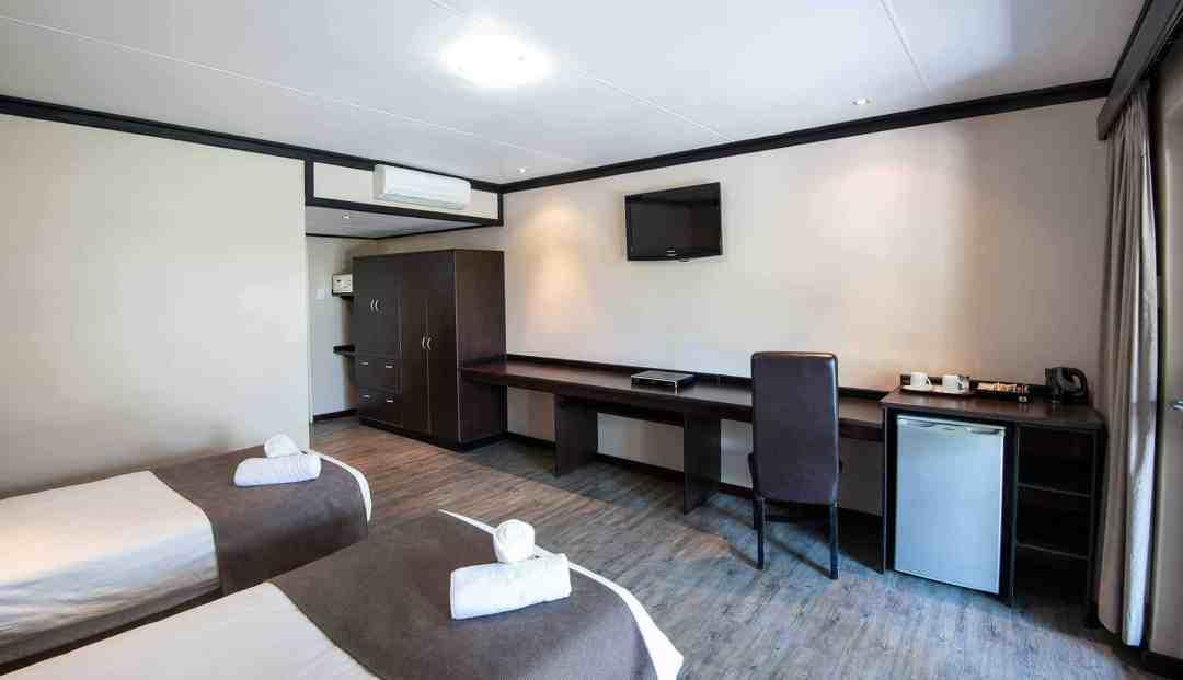 Luxury Room | Twin | Bed & Breakfast Accommodation In Windhoek | Arebbusch Travel Lodge