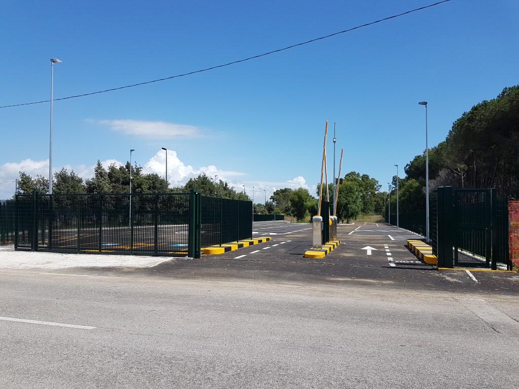 Lavori edili a Salerno.Realizzazione parcheggio
