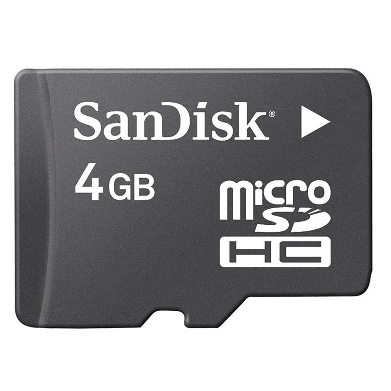 4GB Memory Card With 100 Songs