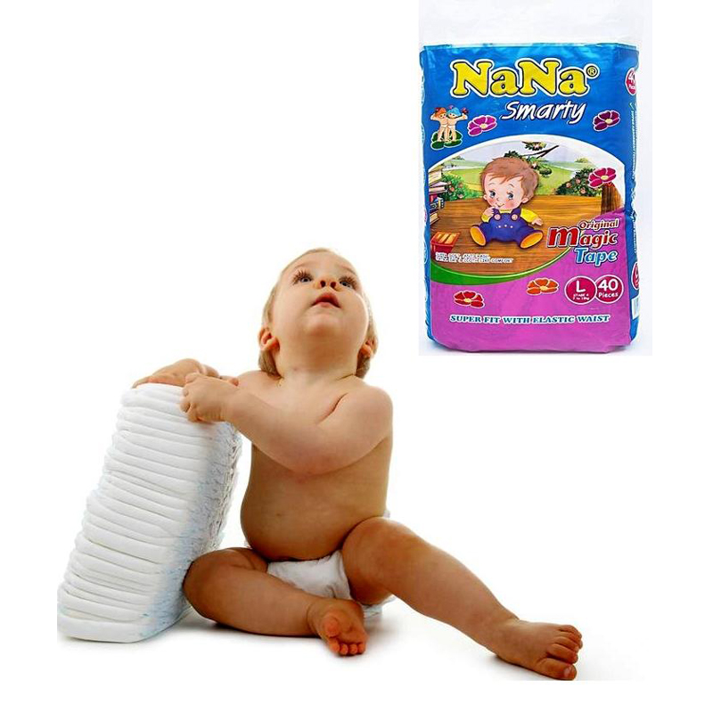 Baby Diapers large Size 40 pcs 1599