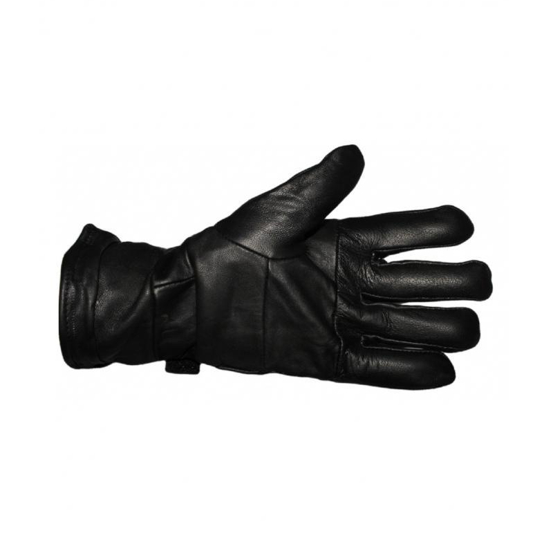 Black Leather Gloves 299