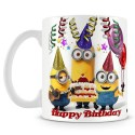 HBD Minion Mug For Kids