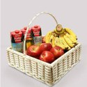 Juice and Fruit Gift Basket