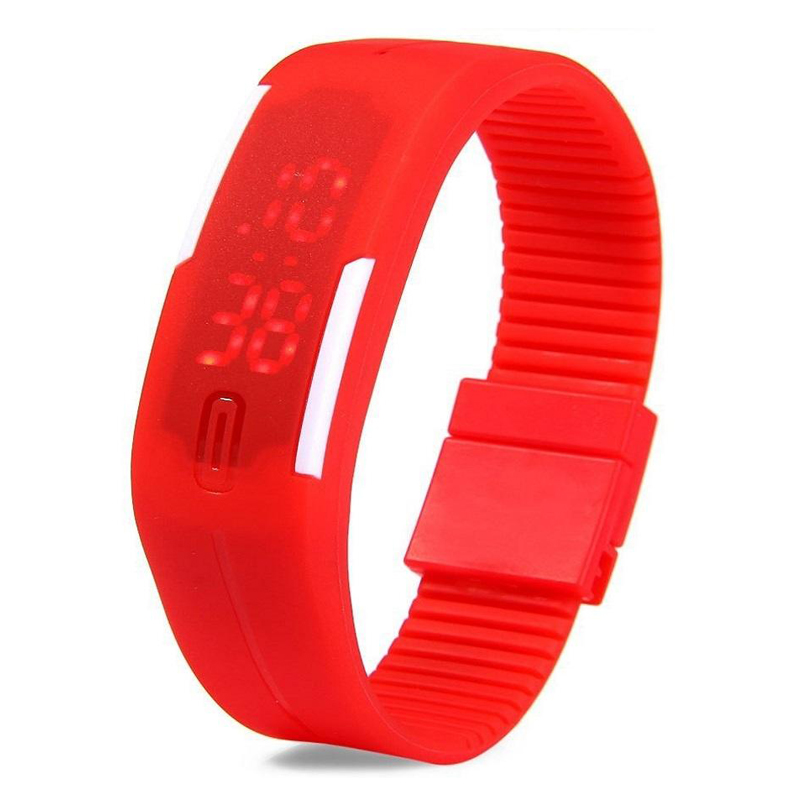 LED Sports Watch Red