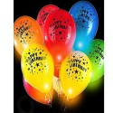 happy Birthday Light Balloons