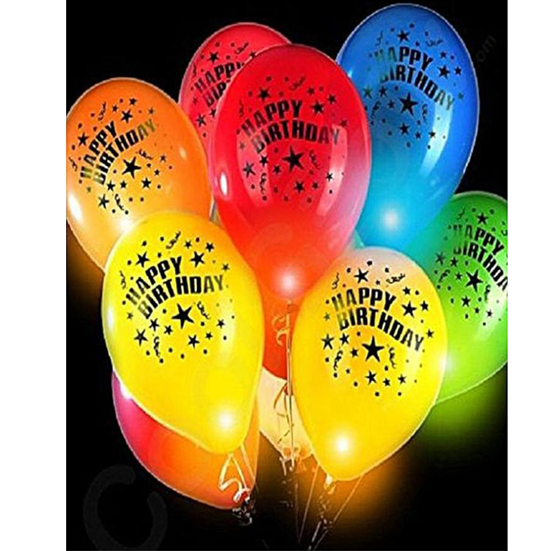 happy Birthday Light Baloons 399