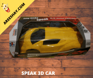 SPEAK 3D CAR