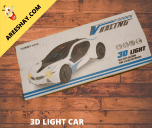 3D LIGHT & MUSIC CAR