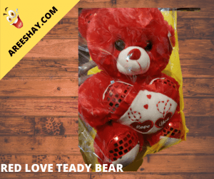 RED LOVE TEADY BEAR BIG