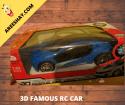 3D FAMOUS RC CAR TOY | WITH LIGHTS & MUSIC SIMPLE