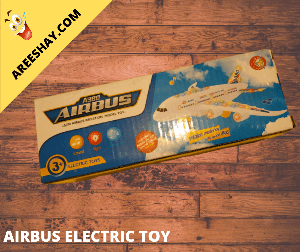 AIRBUS IMITATION MODEL TOY WITH SOUND EFFECT