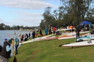 Day 2 End - Waikerie - Canoes Everywhere!