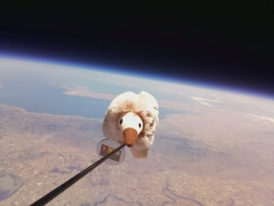 Anstey in near-space on Horus 39