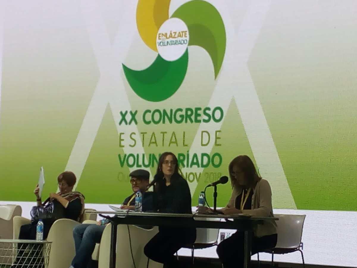 Enlázate ao voluntariado: XX Congreso estatal de Voluntariado