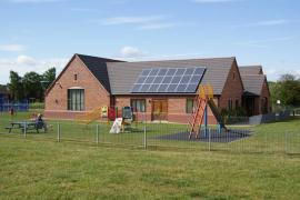 Areley-Kings-Village-Hall solar pv