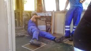 Trabajos neumáticos en cabina 2