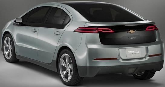 Chevrolet Volt - spate