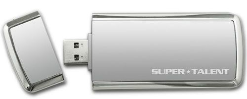 SuperTalent USB 3.0 flash, cu criptare
