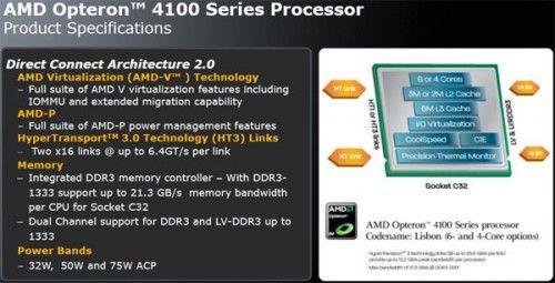 AMD lanseaza noi Opteron-uri
