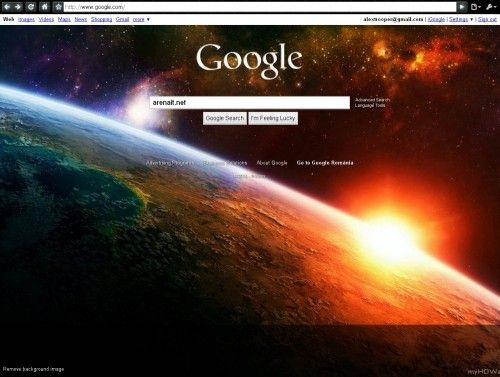 Google are imagine de fundal