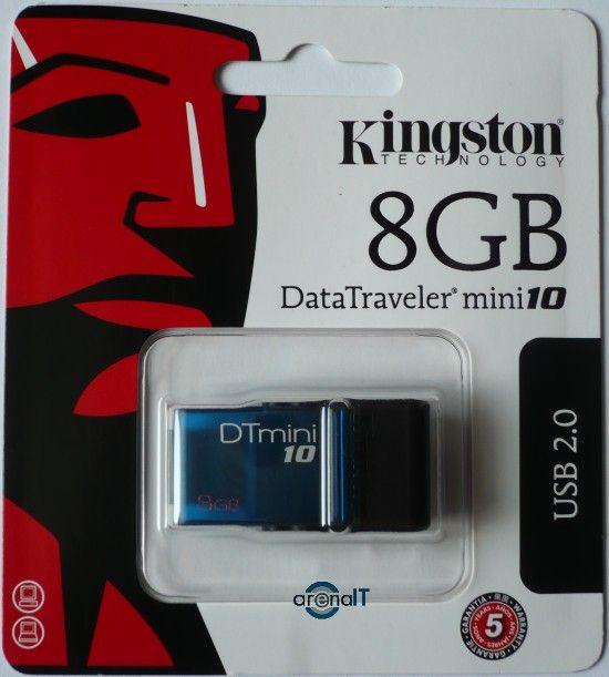 Kingston DataTraveler Mini10 review