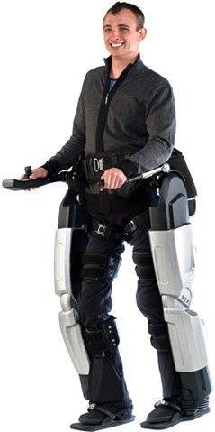 Rex, exoscheletul robotic