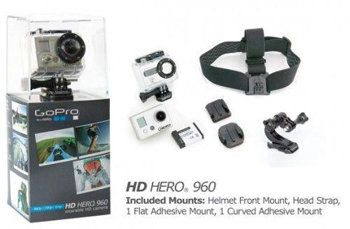 GoPro HD Hero 960, camera la purtator
