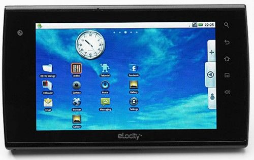 eLocity 10 inch tablet PC