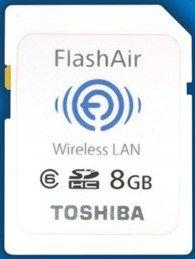 FlashAir, card SDHC cu Wi-Fi