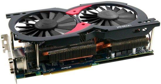 Radeon HD 7970 pe trei slot-uri