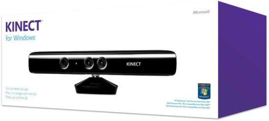 Kinect for Windows lansat