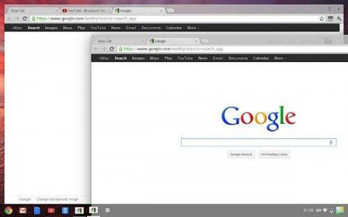 Chrome OS Aura UI arata bine