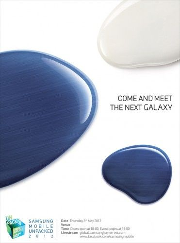 Samsung Next Galaxy confirmat: 3 mai