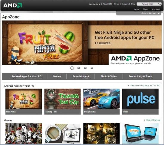 AMD lanseaza AppZone