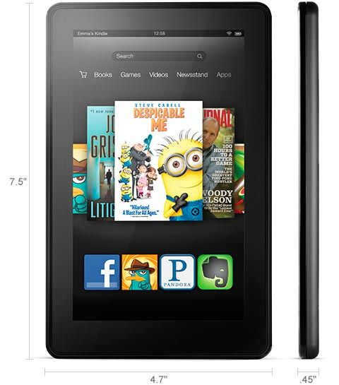 Noile tablete Kindle Fire, Kindle Fire HD